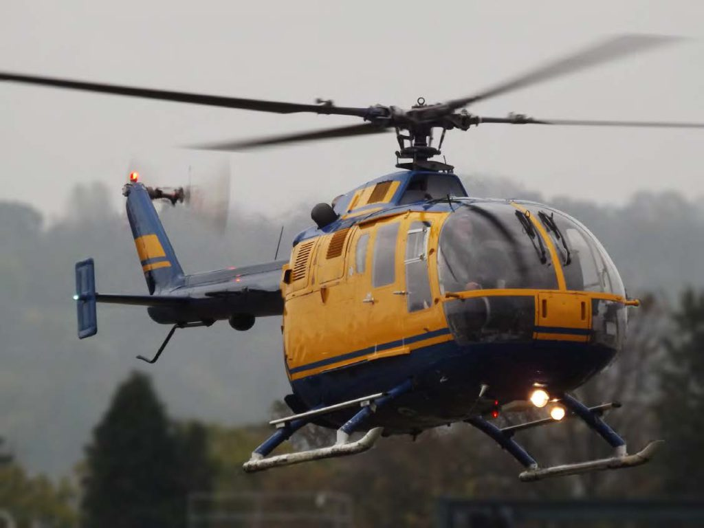 Bo-105M Helicopter